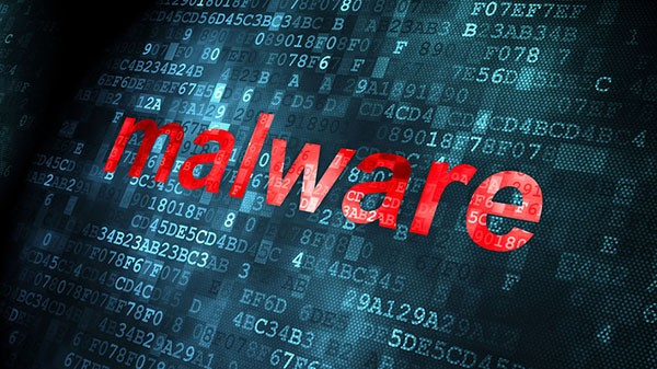 Malware-on-digital-background
